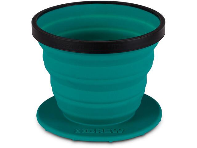 Sea to Summit X-Brew Taza de café, azul